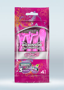 Wilkinson Sword Extra 3 Beauty disposable razor