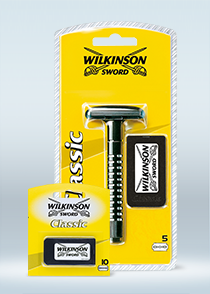 Wilkinson Sword Classic razor with blades