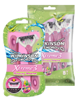 Wilkinson Sword Xtreme 3 Coconut Dream disposable razor