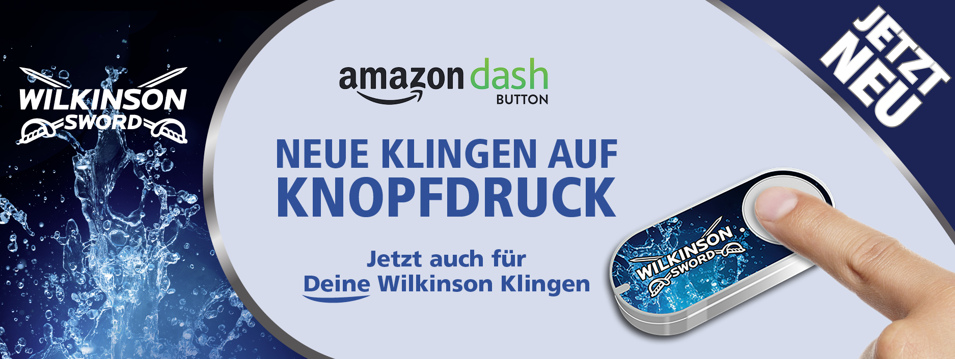 Amazon Dash Button von Wilkinson